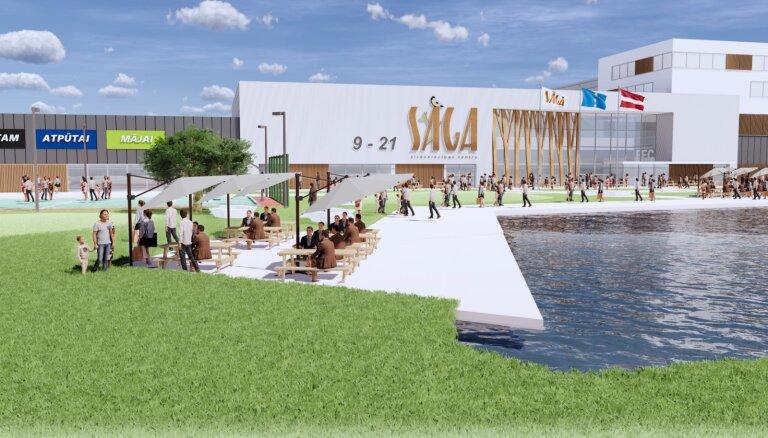 Tirdzniecības centrs 'Sāga' būvniecībai piesaistījis 34 miljonus eiro no divām bankām