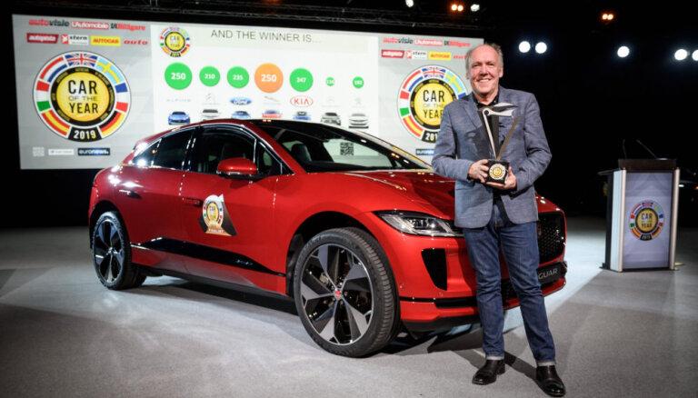 Par 'Eiropas Gada auto 2019' atzīts elektriskais 'Jaguar'