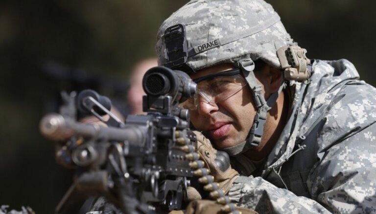 ASV uz Irāku nosūtīs elites spēku vienību