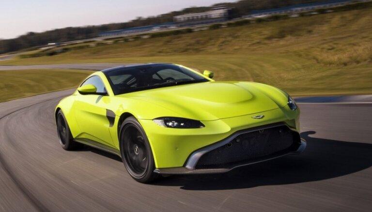 Jaunais 'Aston Martin Vantage' par 136 tūkstošiem eiro