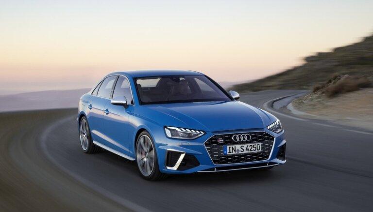 'Audi' modernizējis 'A4' modeļa saimi