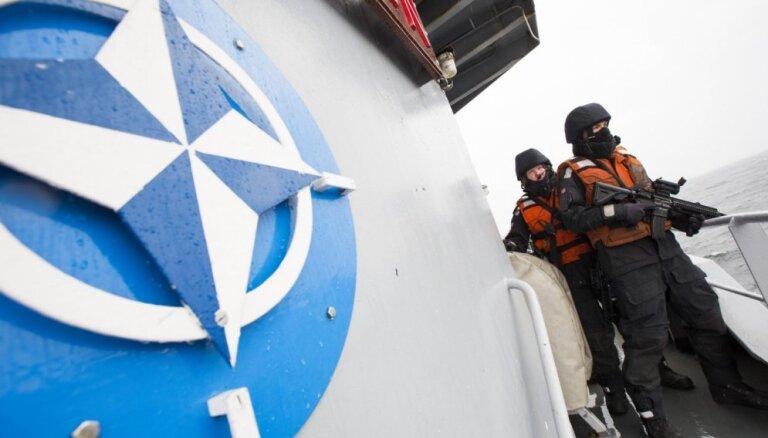 В Ригу прибудут корабли НАТО, стерегущие Балтийское море
