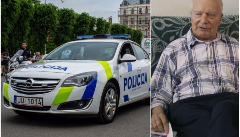 'Zebra': Līdzšinējā policijas auto dizaina autors par jauno – 'tas ir ļoti lesbisks'
