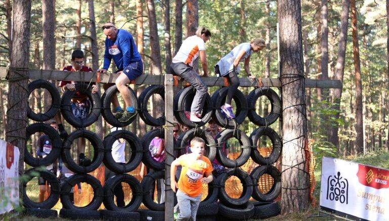 Nākamnedēļ Mežaparkā notiks tradicionālais un patriotiskais Lāčplēša krosa skrējiens