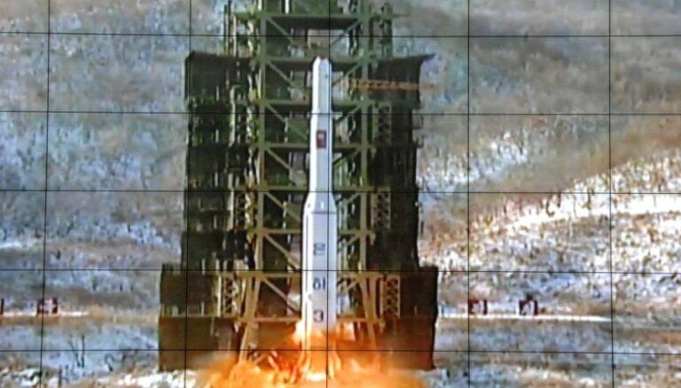 ANO Drošības padome nosoda Ziemeļkorejas raķetes palaišanu