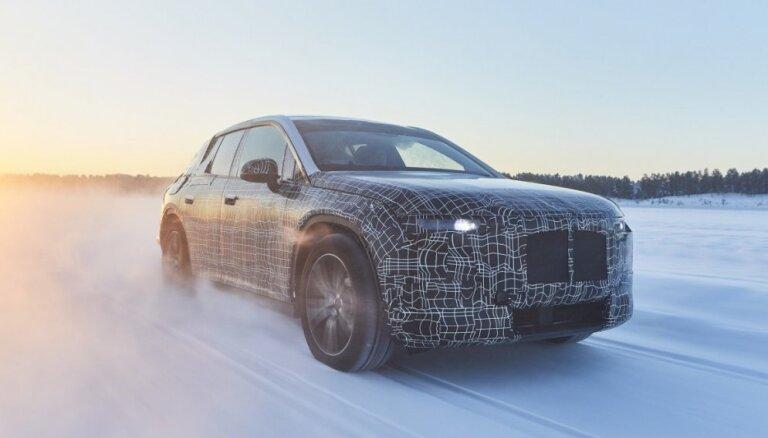 BMW uzsācis sava elektriskā apvidnieka ziemas testus
