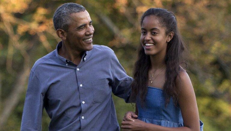 """Старшей дочери Обамы прочат будущее """"иконы стиля"""""""