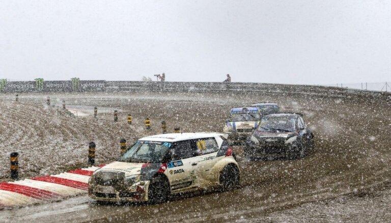 Portugāles sniegputenī Jānis Baumanis nepārvar 'World RX' posma pusfinālu; brālis Artis izcīna otru uzvaru 'Euro RX'