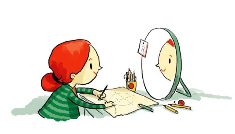 Jauna grāmata bērniem par Latvijas mākslu – 'Mula un portrets'