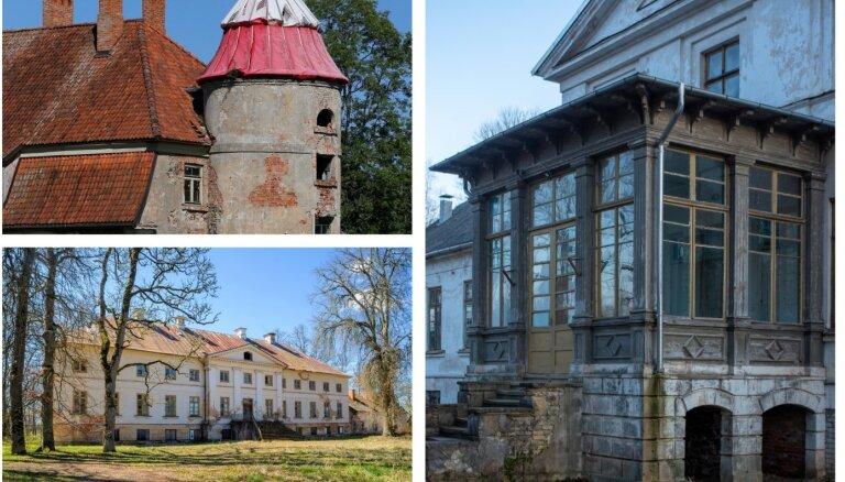 'Красивые и разрушенные. Топ дорогих усадеб в Латвии, выставленных на продажу