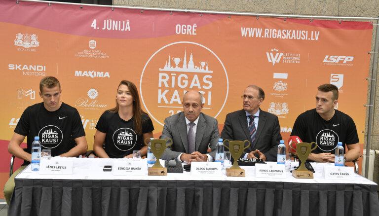 Sacensībās 'Rīgas kausi' piedalīsies Latvijā vadošie vieglatlēti