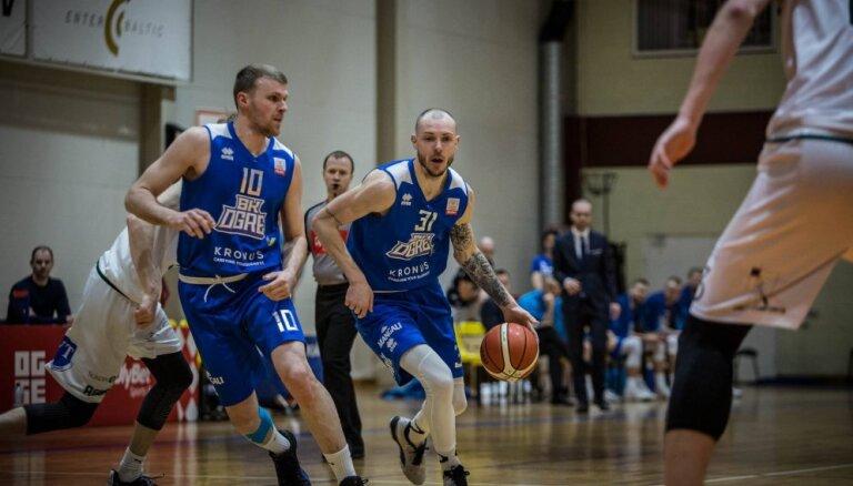 'Ogres' basketbolisti nonāk soli no 'OlyBet' LBL pusfināla