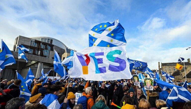 Cīņa par otru referendumu: Skotijas neatkarības ambīcijas nav izzudušas