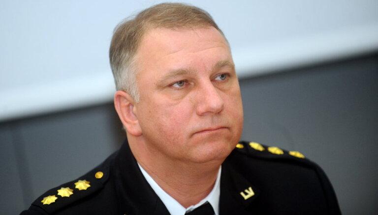 Nodokļu un muitas policijas direktoram Podiņam plāno piešķirt ģenerāļa dienesta pakāpi