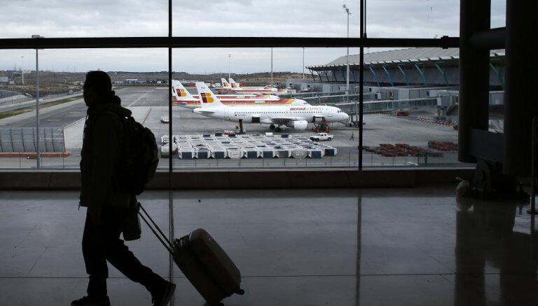 В испанском аэропорту потеряли самолет