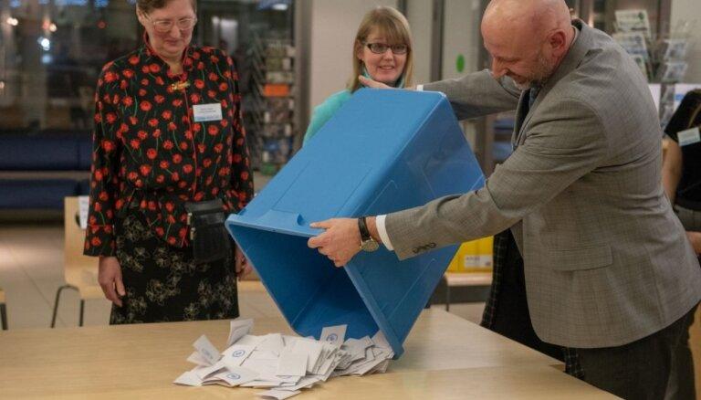 Provizoriskie rezultāti: Igaunijā vēlēšanās uzvar Reformu partija