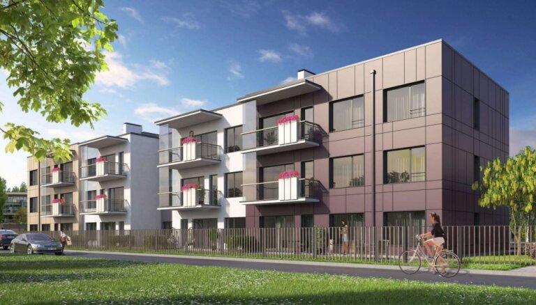 Ieguldot miljonus, Šampēterī top daudzdzīvokļu māju komplekss