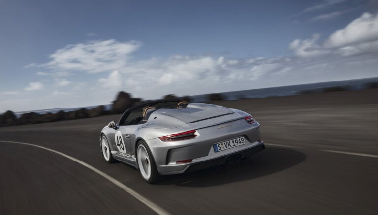 Ražošanā nonāk jaunais 'Porsche 911 Speedster' – 510 ZS jauda un mazsērijas izlaidums