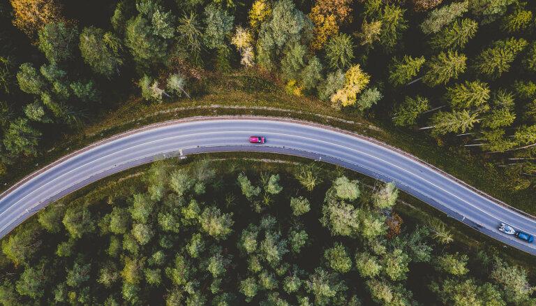 Lietuvas automaģistrāle no Viļņas līdz Latvijas robežai 'Google' kartē nesīs Baltijas ceļa nosaukumu