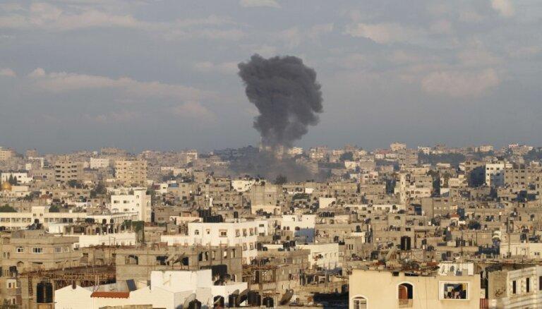 Палестинская ракета разрушила жилой дом в израильском городе Ашкелон