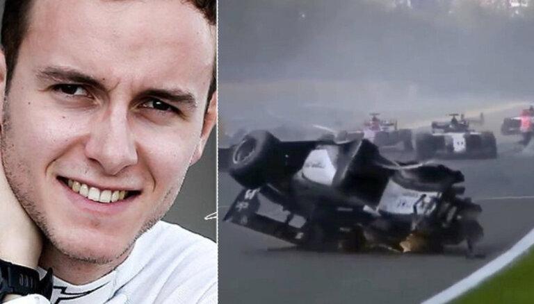 22 gadus vecs F-2 pilots gājis bojā Beļģijas sacīkšu posmā