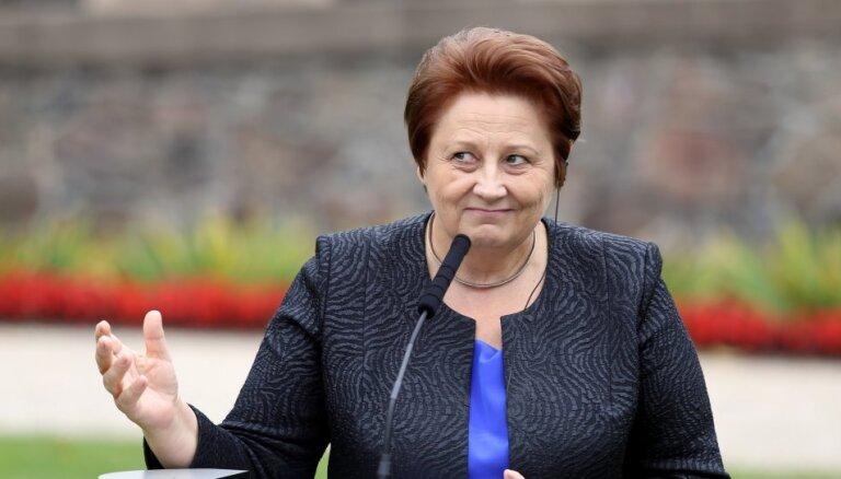 Лаймдота Страуюма может объявить о своей отставке