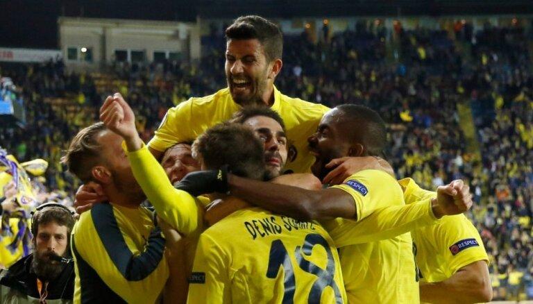'Villareal' Eiropas līgas pusfinālā kompensācijas laikā izrauj uzvaru pār 'Liverpool'