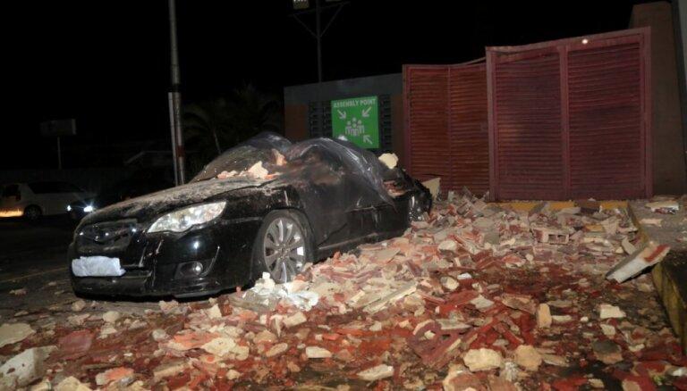Venecuēlu satricina spēcīga zemestrīce