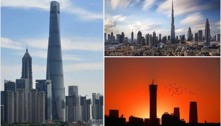 Jaunākais reitings – Top 10 augstākās ēkas pasaulē