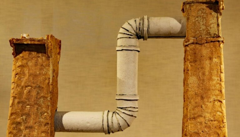Rotko centrā eksponēs keramiķa Martinsona darbu 'Tilts no nekurienes'