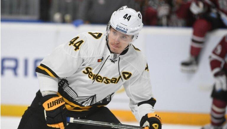 Kulda neglābj Čerepovecas 'Severstaļ' no zaudējuma KHL mačā