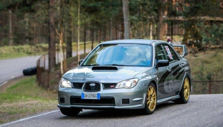 Minišosejas sezona Biķerniekos iesākas ar 'Subaru' uzvaru