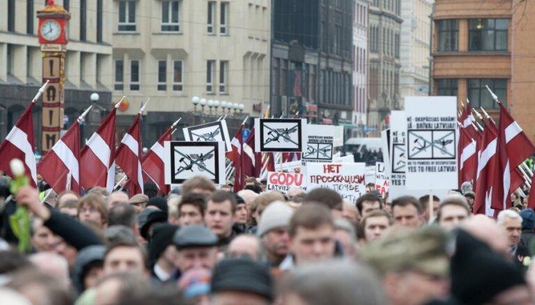 Rīgas dome atļauj rīkot leģionāru piemiņas pasākumus