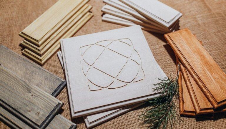 Pašmāju uzņēmums sāks inovatīva produkta – koka apdares flīžu – ražošanu