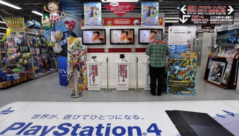 'Sony' videospēļu konsoļu tirdzniecība pirmo reizi astoņos gados apsteigusi 'Nintendo'