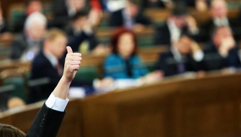 Arī Saeima varētu piekrist NEPLP vadītāja Dimanta atlaišanai