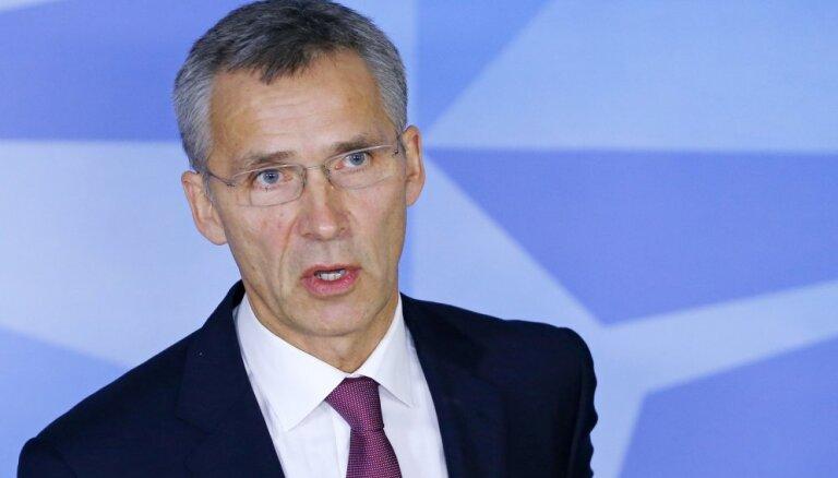 Генсек НАТО не видит прямой угрозы странам Балтии со стороны России