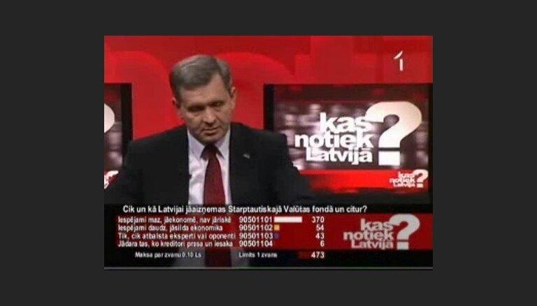 Kas notiks ar valsts budžetu, ja nesaņemsim aizdevumu?