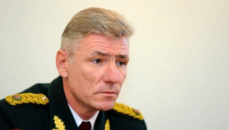 Pirms pilnvaru termiņa beigām pensijā dodas Robežsardzes priekšnieks Garbars