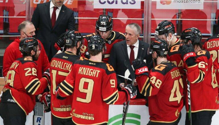 Hārtlijs pretendē uz KHL sezonas labākā trenera godu