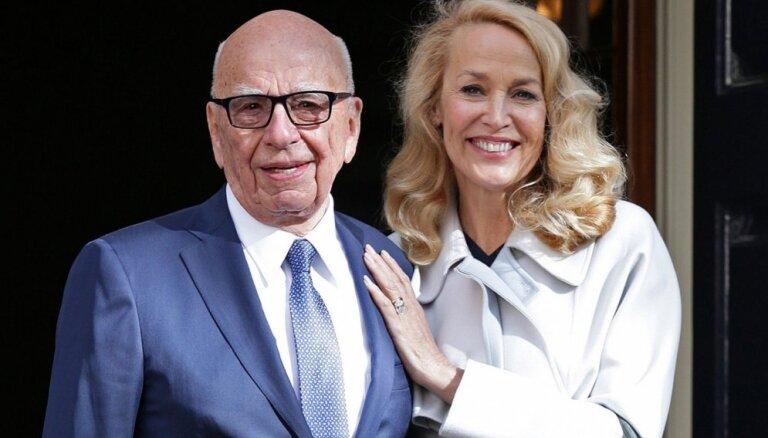 ФОТО: Руперт Мердок и Джерри Холл поженились в Лондоне