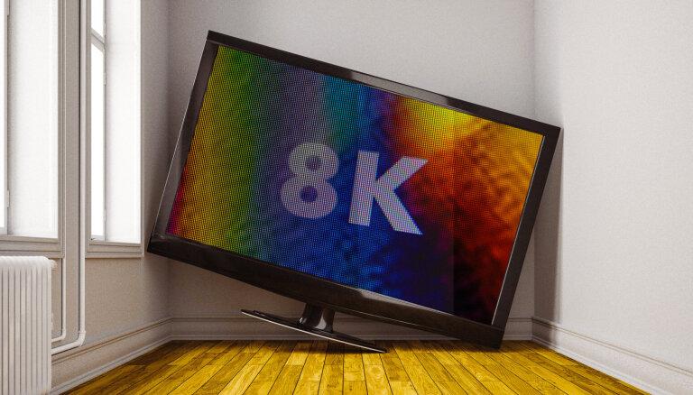 'Noderīgi tikai veikala skatlogā?' – vai ir vērts apsvērt 8K televizora iegādi