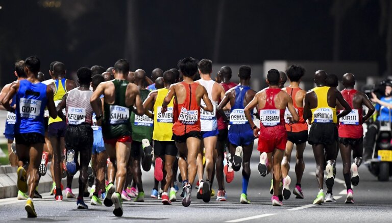 Serjogins izcīna 48.vietu pasaules čempionāta maratonā