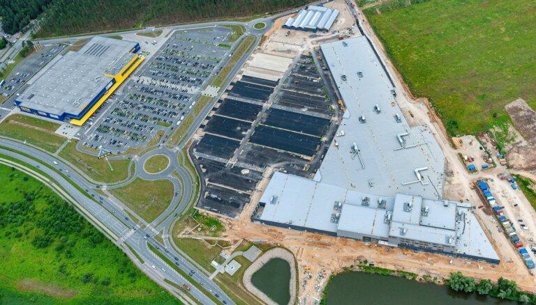 Грандиозный сосед Ikea – фото строящегося торгового центра