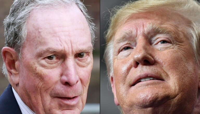 Maikls Blumbergs iesaistās cīņā par demokrātu nomināciju ASV prezidenta vēlēšanām
