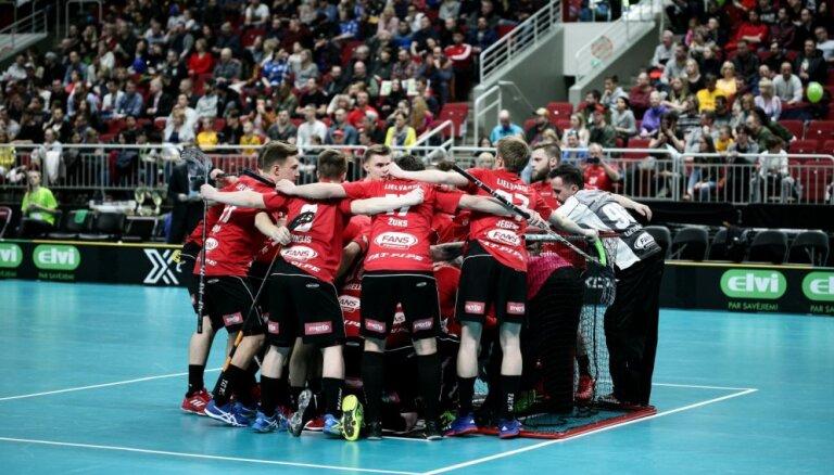 'Lielvārde'/'FatPipe' florbolisti trešo reizi vēsturē triumfē Latvijas čempionātā