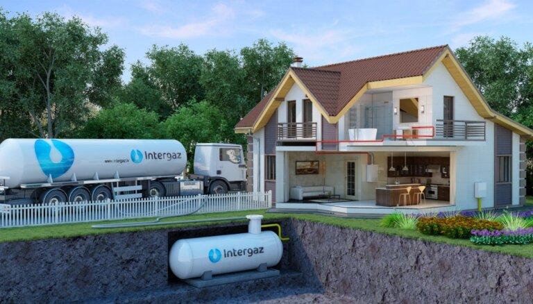 Autonomā sasķidrinātās propāna gāzes apkure: priekšrocības