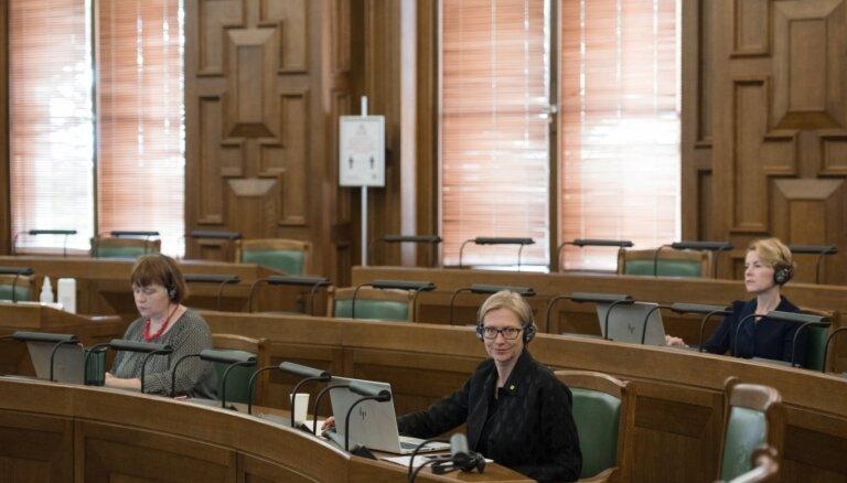 Saeima paziņojumā aicina Baltkrievijā rīkot jaunas prezidenta vēlēšanas