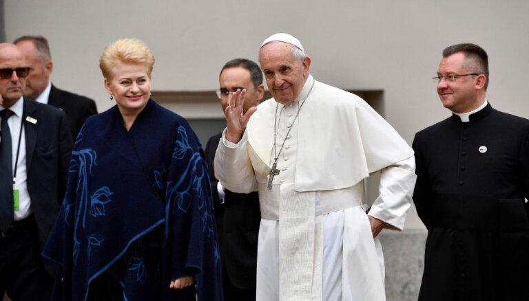 Папа римский призвал Литву стать мостом между Восточной и Западной Европой