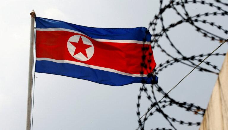 ASV-Dienvidkorejas vienošanos par ballistiskajām raķetēm Ziemeļkoreja kritizē kā divkosīgu